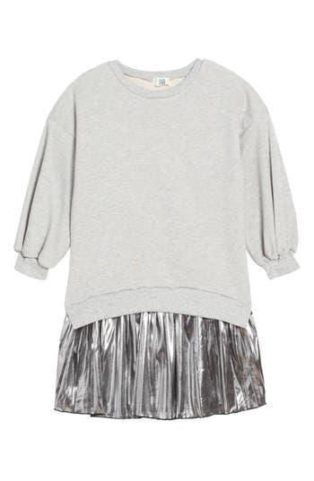 Girl's Play Lyst Metallic Sweatshirt Dress