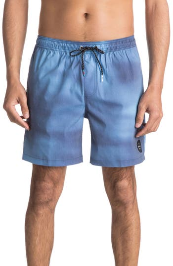 Quiksilver Haze Volley Shorts, Blue