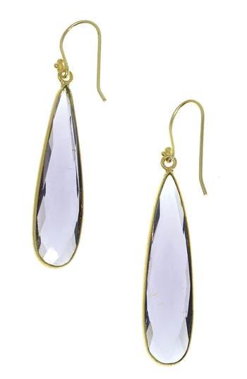 Women's Jemma Sands Newport Semiprecious Stone Teardrop Earrings