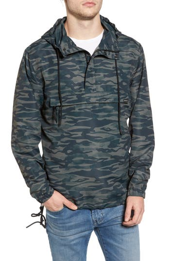 Men's Rvca Packaway Hooded Anorak