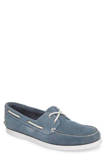 1901 Pacific Boat Shoe- Blue