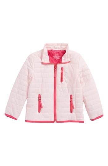 Toddler Girl's Vineyard Vines Mountain Weekend Quilted Jacket