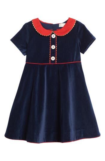 Girl's Mini Boden Velvet Party Dress