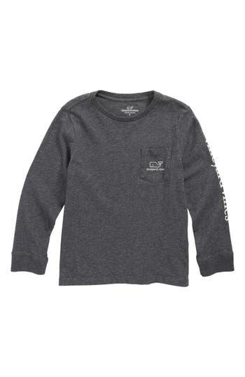 Boy's Vineyard Vines Glow In The Dark Vintage Whale Pocket T-Shirt