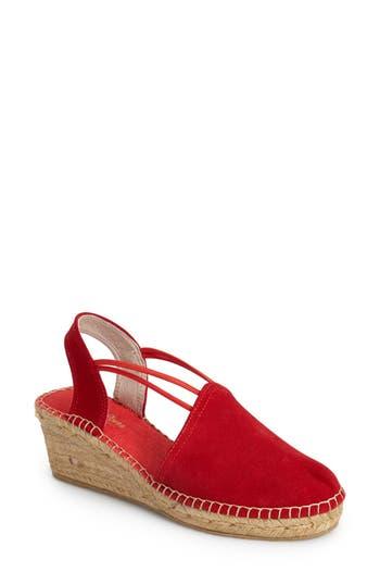 Women's Toni Pons 'Tremp' Slingback Espadrille Sandal, Size 40 EU - Red
