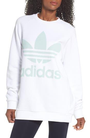 Adidas Originals Oversize Sweatshirt, White