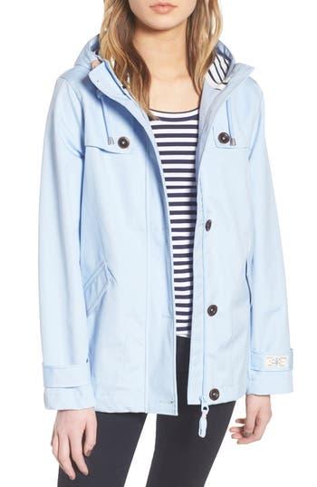 Joules Right As Rain Waterproof Hooded Jacket,