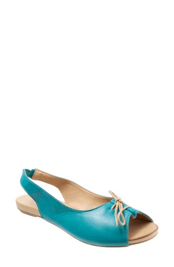 Women's Bueno Keely Slingback Tie Sandal, Size 8.5-9US / 39EU - Blue