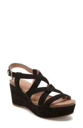 Women's Adam Tucker Bria Strappy Sandal, Size 6.5 M - Black