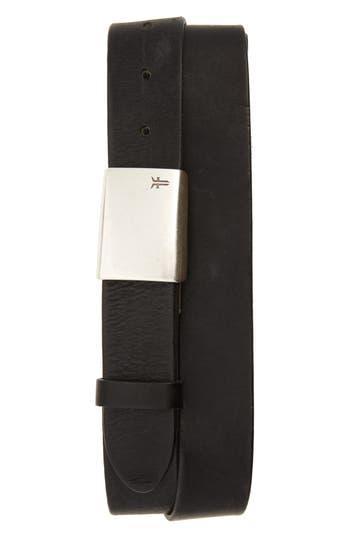 Frye Leather Belt, Black
