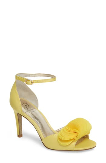 Adrianna Papell Gracie Ankle Strap Sandal, Yellow