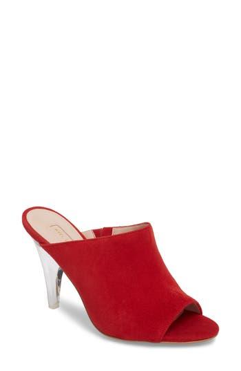 Women's Avec Les Filles Jazz Off Sandal, Size 6 M - Red