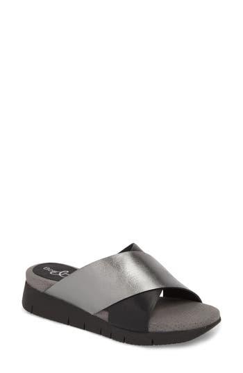Women's Bos. & Co. Piney Slide Sandal, Size 5.5-6US / 36EU - Black