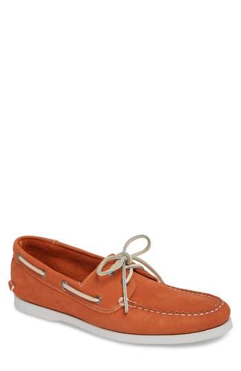 1901 Pacific Boat Shoe, Orange