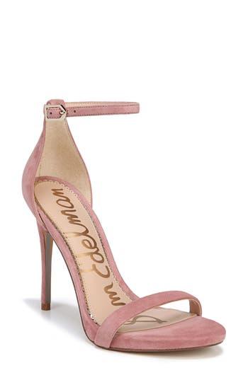 Women's Sam Edelman Ariella Ankle Strap Sandal, Size 7 M - Pink