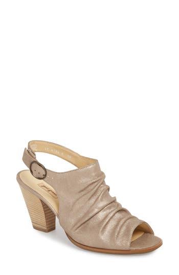 Paul Green Rival Sandal - Metallic