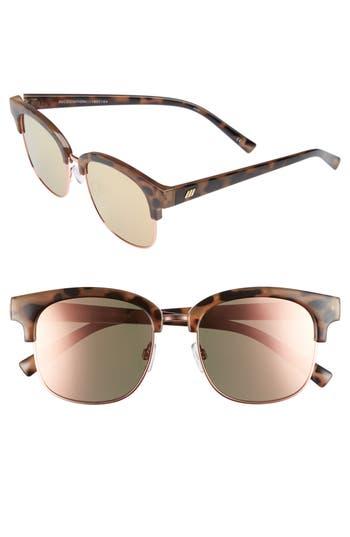 Le Specs Recognition 5m Sunglasses - Apricot Tortoise