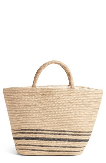 Amuse Society FOREVER VACAY JUTE BAG - BEIGE