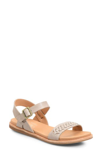 Kork-Ease Yucca Braid Sandal, Grey
