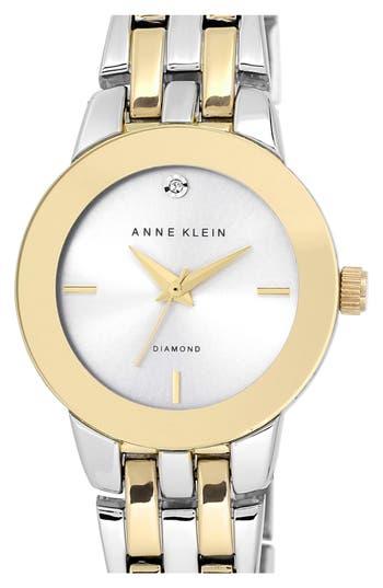 Women's Anne Klein Diamond Accent Bracelet Watch, 30Mm
