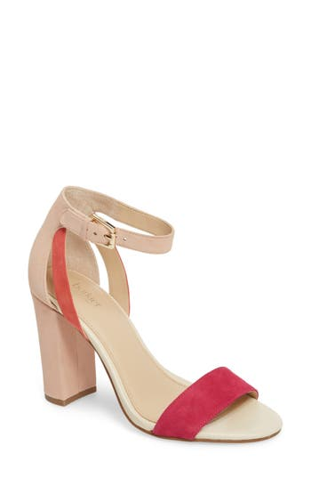 Women's Botkier Gianna Ankle Strap Sandal, Size 6 M - Pink