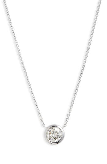 Roberto Coin DIAMOND BEZEL NECKLACE