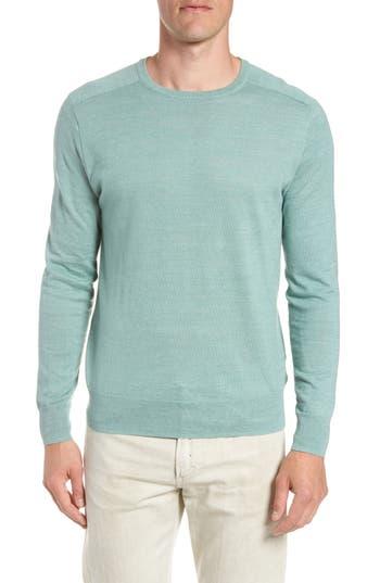 J.crew Cotton Blend Crewneck Sweater, Green