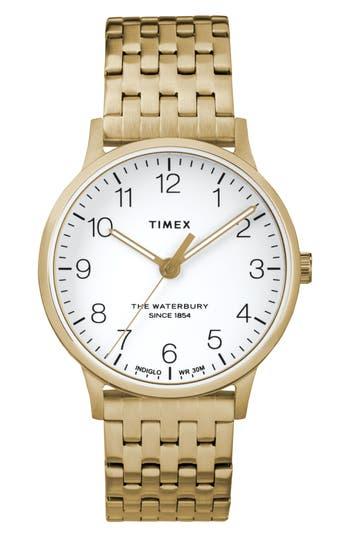 Timex Waterbury Bracelet Watch,