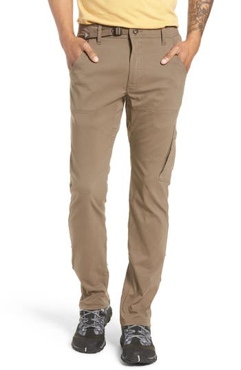 PRANA Stretch Zion Roll Pants in Charcoal