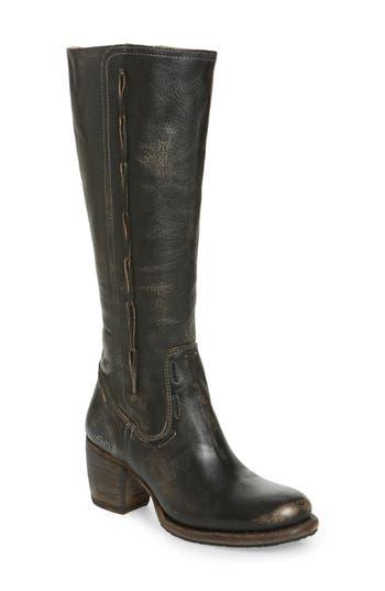 Bed Stu Fate Knee High Boot, Black