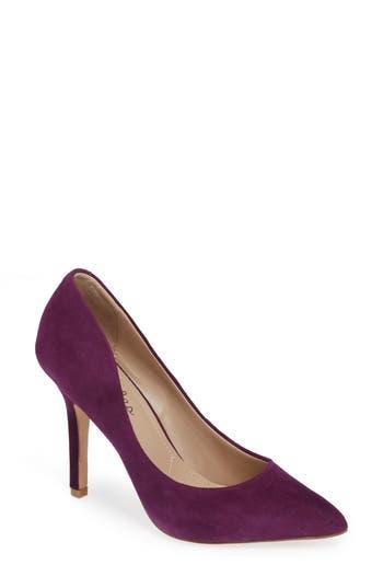 Charles By Charles David Maxx Pointy Toe Pump- Purple