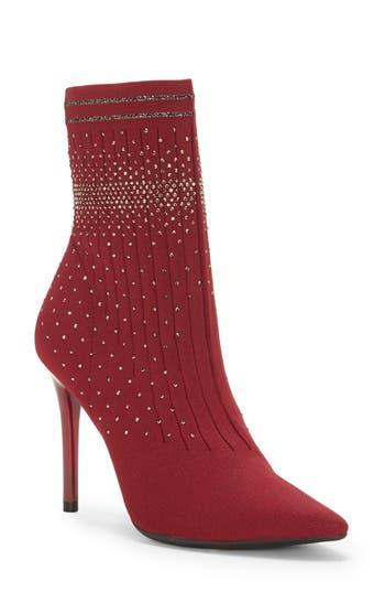 Jessica Simpson Lytona Sock Bootie, Red