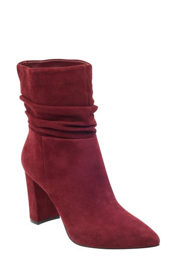 Marc Fisher Ltd Unana Bootie, Red