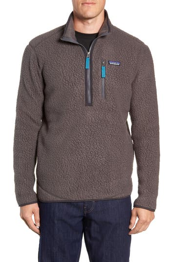 Patagonia Retro Pile Fleece Zip Jacket, Grey