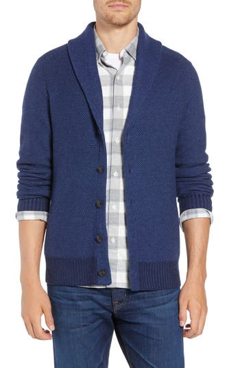 Bonobos Shawl Collar Cardigan, Blue