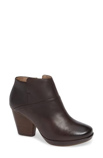 Dansko MILEY BURNISHED LEATHER BOOTIE