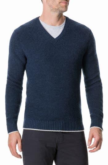 Rodd & Gunn Masfield Merino Wool Sweater, Blue