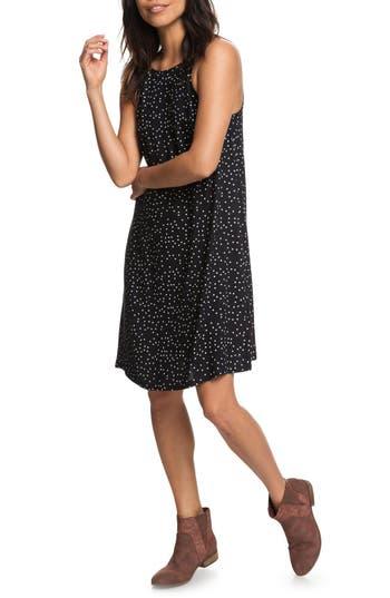 Roxy City Shield Print Dress, Black