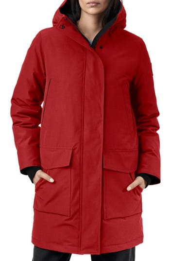 Canada Goose Canmore 625 Fill Power Down Parka, Red
