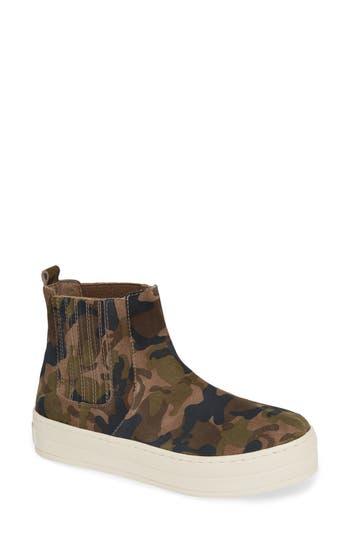Jslides Hypo High Top Sneaker, Green
