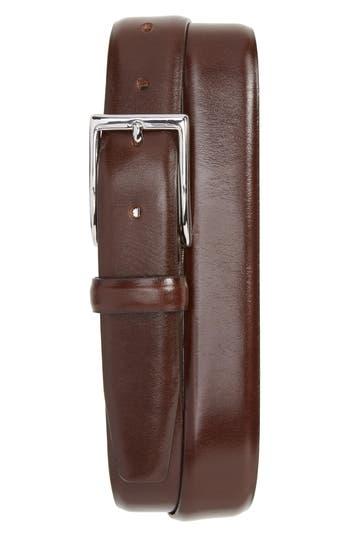 J.crew Leather Dress Belt, Cigar Brown