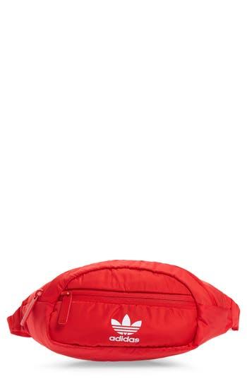 Waist Bag - Red, Radiant Red/ White