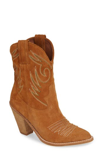 Jeffrey Campbell Audie Cowgirl Boot, Brown