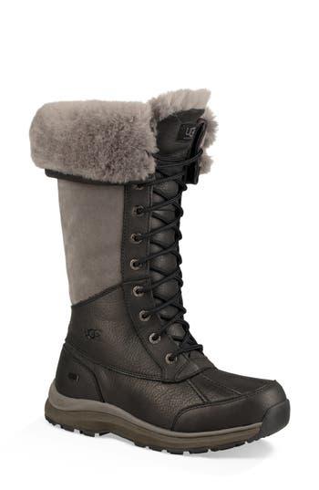 Ugg Adirondack Ii Waterproof Tall Boot, Black