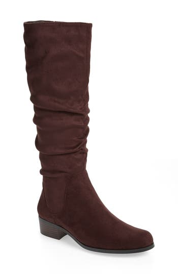 Charles By Charles David Guru Slouchy Knee High Boot, Brown
