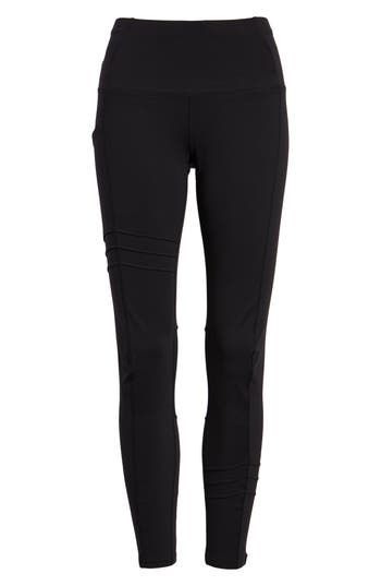 Oiselle Pocket Jogger Capri Leggings, Black