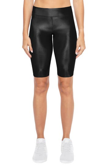 KORAL Densonic High Waist Bike Shorts in Black