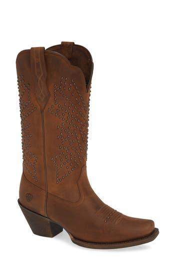 Ariat Lakyn Western Boot- Grey