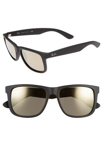 Ray-Ban 5m Sunglasses - Black/ Brown Mirror Gold