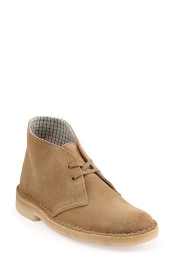 Women's Clarks 'Desert' Chukka Boot, Size 11 M - Beige